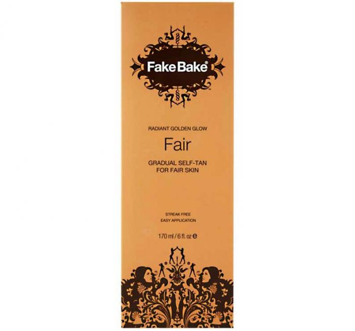 Lotiune Autobronzanta Profesionala FAKE BAKE Gradual Self-Tan, Radiant Golden Glow, Fair, 170 ml-big