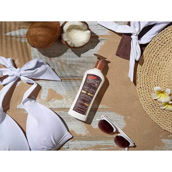 Lotiune Autobronzanta Pentru Bronzare Graduala PALMER'S Natural Bronze, cu Ulei de Cocos nerafinat & Vitamina E, 250 ml-big