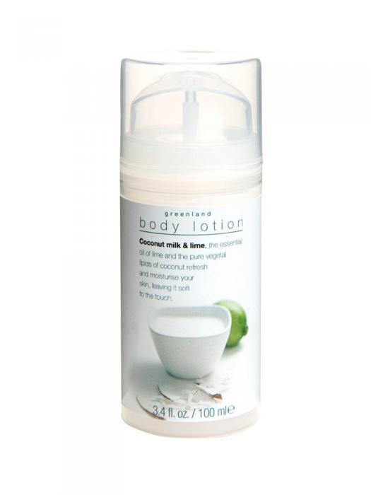 Lotiune de Corp Greenland cu Lapte de Cocos si Lamaie Verde-100 ml-big