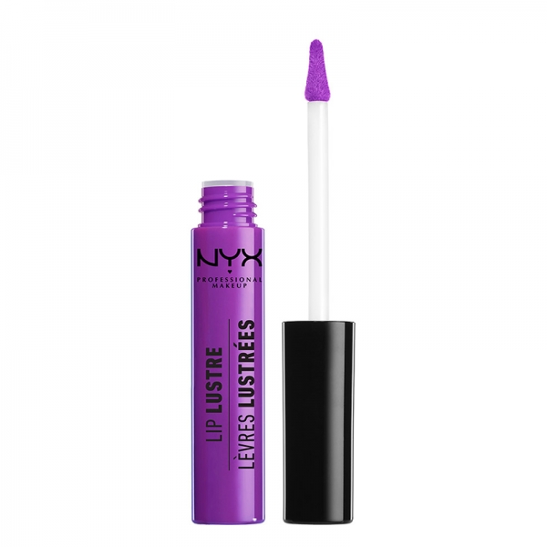 Gloss Nyx Professional Makeup Lip Lustre - 07 Violet Glass, 8 ml-big