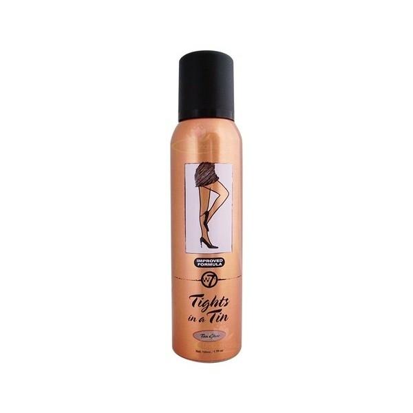 Makeup Autobronzant Pentru Picioare W7 Tights In A Tin Deep Glow, 125 ml-big