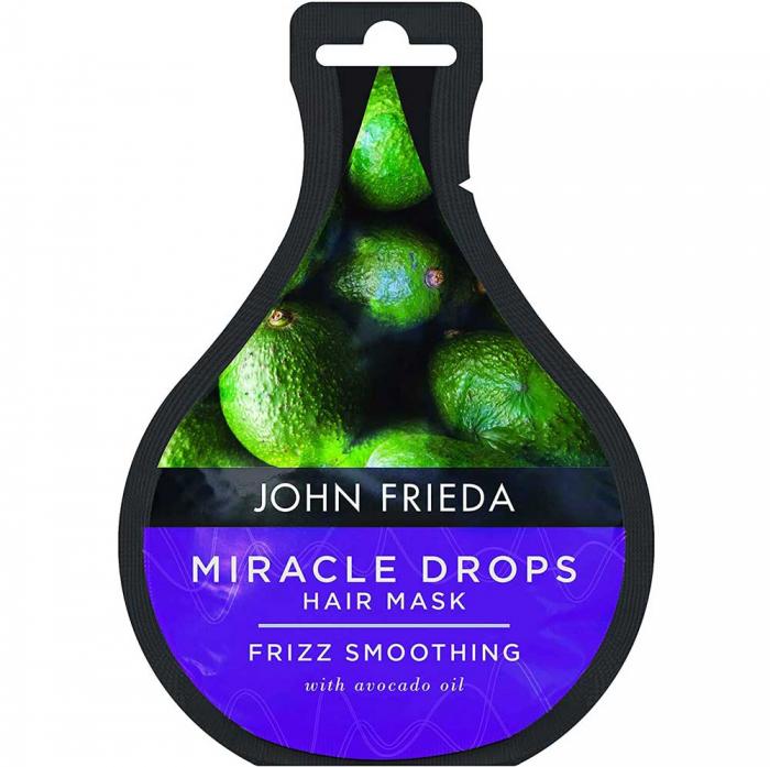 Masca tratament pentru par rebel JOHN FRIEDA Miracle Drops Avocado Oil Hair Mask, 25 ml-big