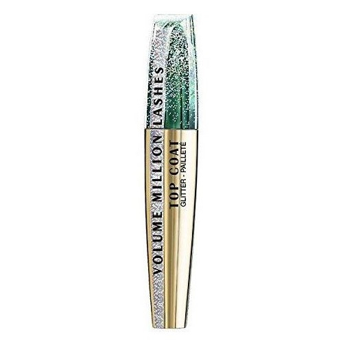 Mascara Transparent cu Sclipici L'Oreal Paris Top Coat Volume Million Lashes Glitter, 8.9 ml-big