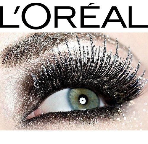 Mascara Transparent cu Sclipici L'Oreal Paris Top Coat Volume Million Lashes Glitter, Hologram, 9 ml-big