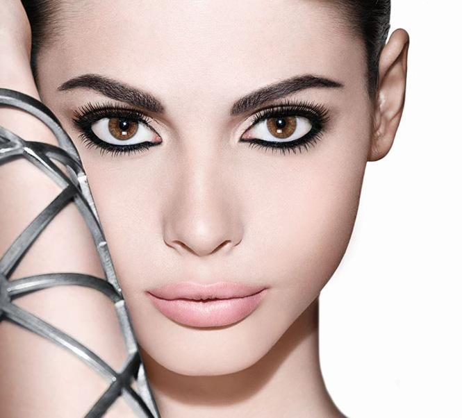 Creion de ochi dublu Maybelline Big Eyes - 01 Black & White-big