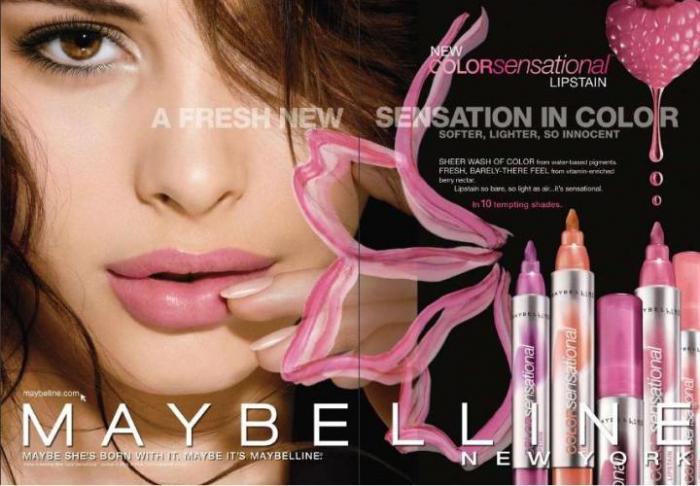 Ruj Maybelline Color Sensational Lipstain - 150 Tender Rose-big