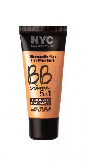 BB Cream NYC Smooth Skin Bronzed Radiance - 005 Medium-big