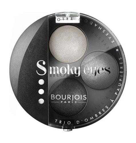 Paleta 3 Farduri Bourjois Paris Smoky Eyes - 01 Gris Dandy, 4.5 g-big