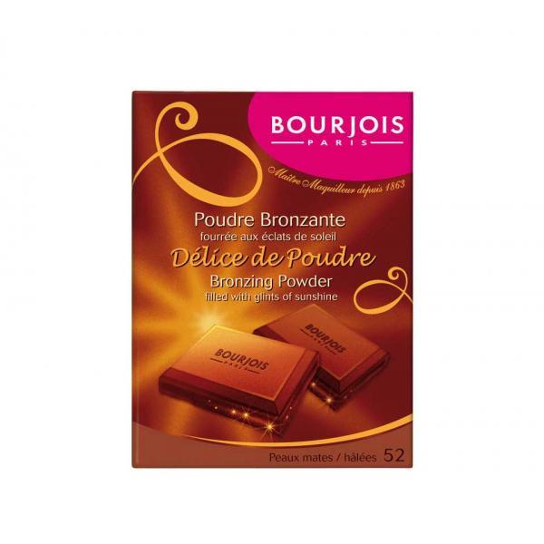 Paleta Bronzanta in forma de ciocolata BOURJOIS Paris Delice de Poudre 52 Peaux mates, 16.5g-big