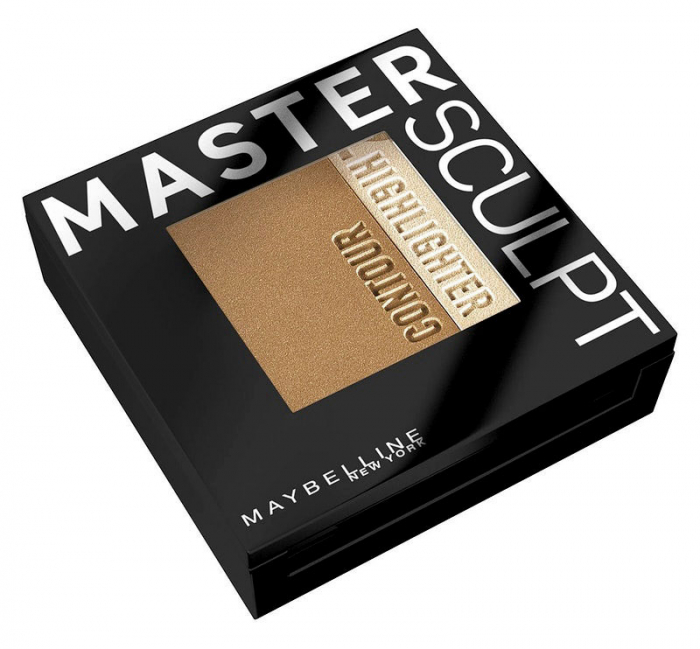 Paleta contouring Maybelline New York Face Studio Master Sculpt - 02 Medium Dark, 9 g-big