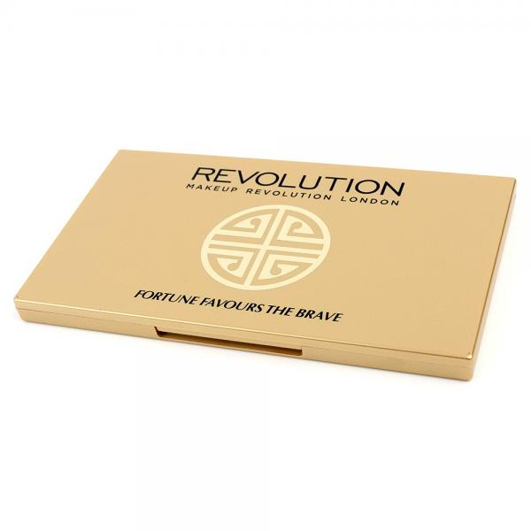 Paleta Cu 30 Farduri MAKEUP REVOLUTION Fortune Favours The Brave by British Beauty Blogger-big