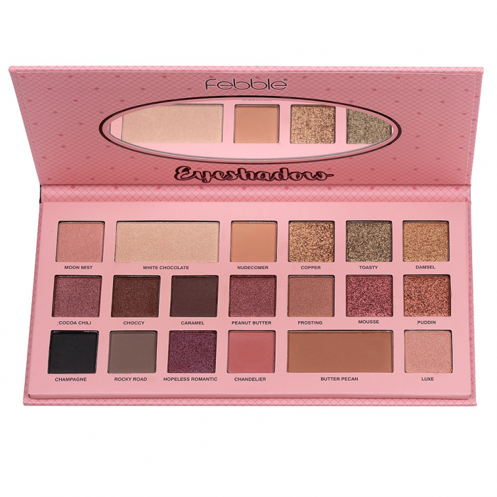 Paleta de farduri Febble Eyeshadow, 19 Colors-big
