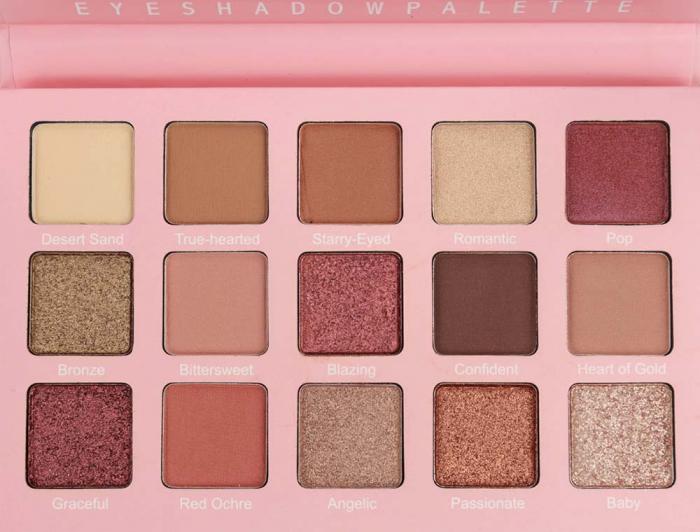 Paleta de farduri Febble Eyeshadow Palette, 15 Colors-big
