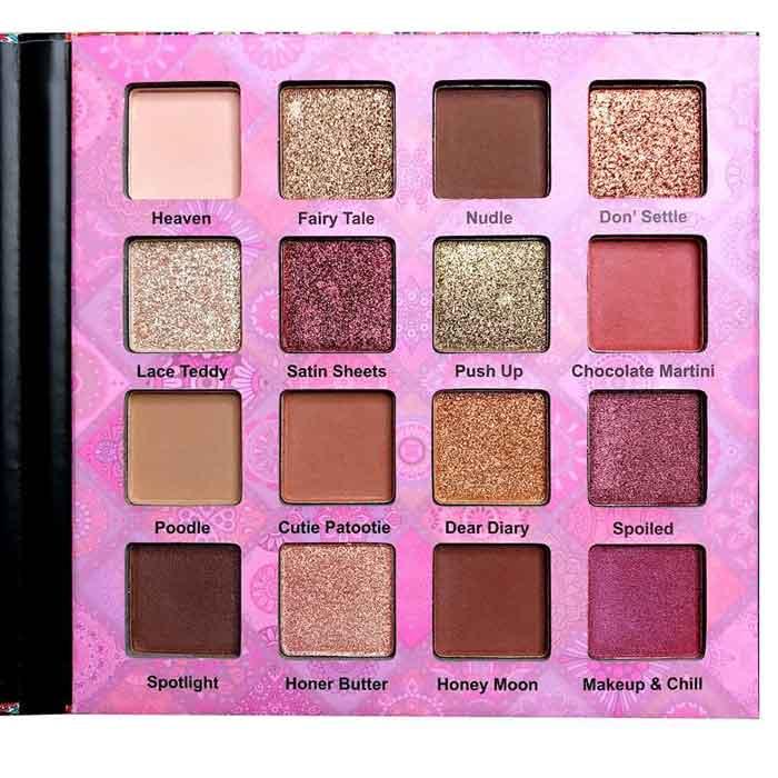 Paleta de farduri Febble Eyeshadow Palette, 16 Colors-big