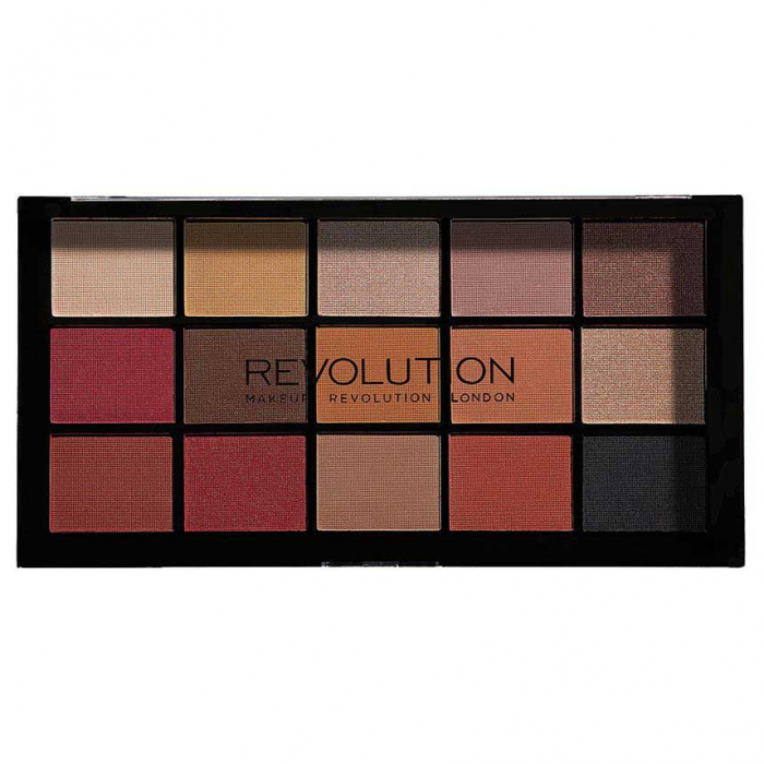 Paleta de farduri Makeup Revolution - Re-Loaded Palette - Iconic Vitality, 15 Nuante-big
