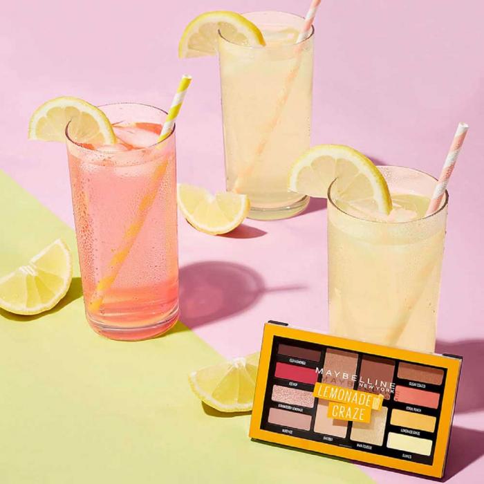 Paleta de farduri Maybelline New York Lemonade Craze, 12 g-big
