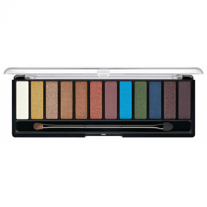 Paleta de farduri Rimmel Magnif'Eyes Colour Edition Eye Contouring Palette, 14.2 g-big