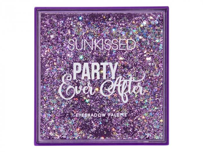 Paleta de farduri SUNKISSED Party Ever After, 16 Culori, 16 g-big