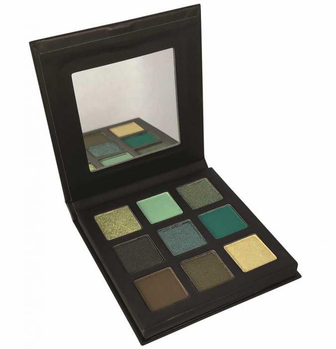 Paleta Farduri TECHNIC Pressed Pigment Palette, Mesmerising, 9 culori-big