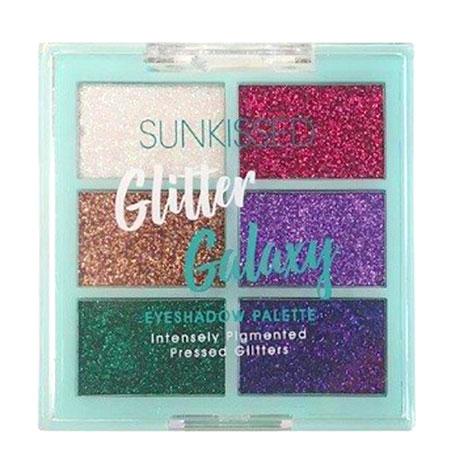 Paleta glittere SUNKISSED Glitter Galaxy, Intensely Pigmented, 6 Culori-big