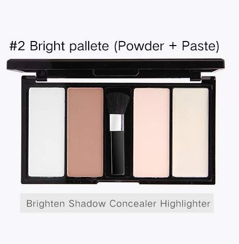 Paleta iluminatoare si conturare Music Flower Blusher Contour Kit-big
