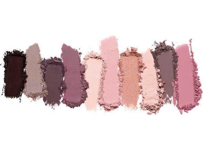 Paleta multifunctionala pentru pleoape si pometi Maybelline New York City Kits, Pink Edge, 12 g-big