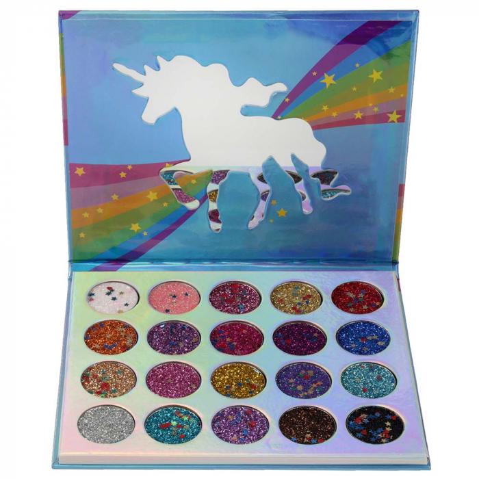 Kit Sclipici cu 20 Glittere Multifunctionale, Unicorn Love-big