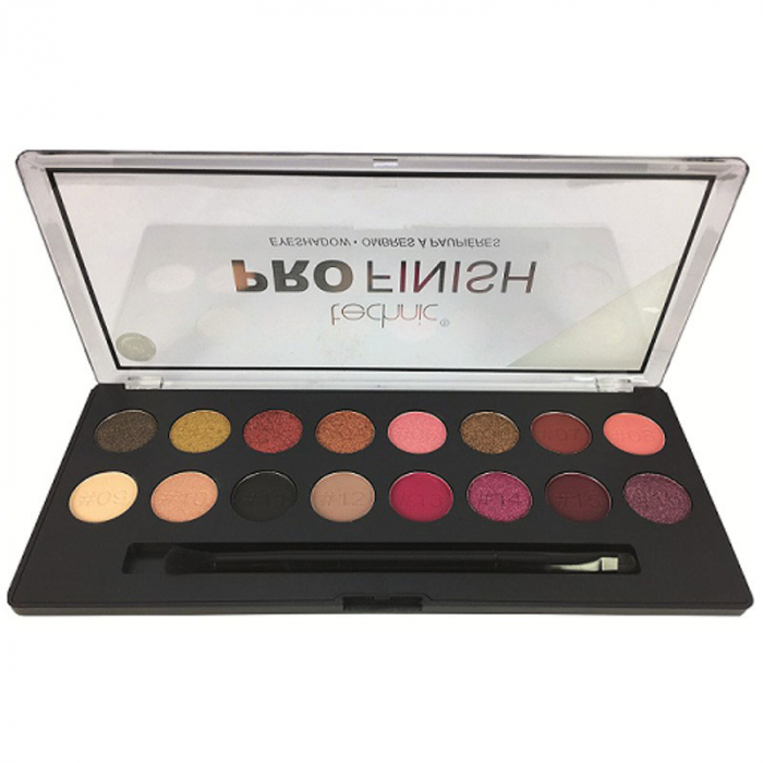 Paleta Profesionala de Farduri Technic PRO Finish Eyeshadow, Hidden Treasures-big