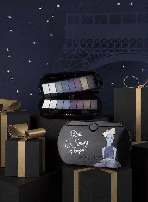 Paleta de Farduri Bourjois Paris Le Smoky Eyeshadow Palette, 02 Le Smoky-big