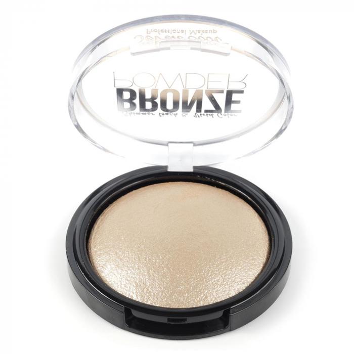 Pudra Profesionala Iluminatoare, Seven Cool, Bronze Powder, Shimmer Touch, 01 Vanilla-big