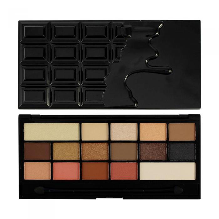 Paleta de Farduri MAKEUP REVOLUTION I Heart Makeup I Love Chocolate - Vice-big