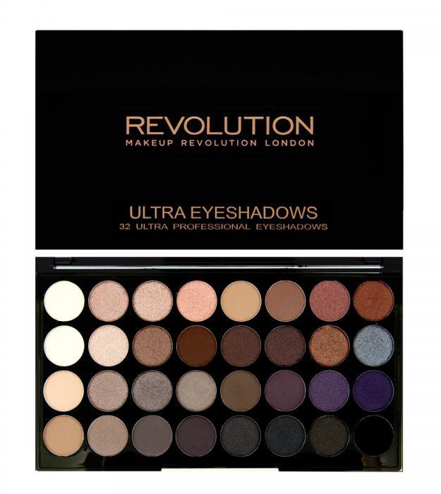 Paleta Profesionala Cu 32 Farduri Makeup Revolution - Affirmation-big