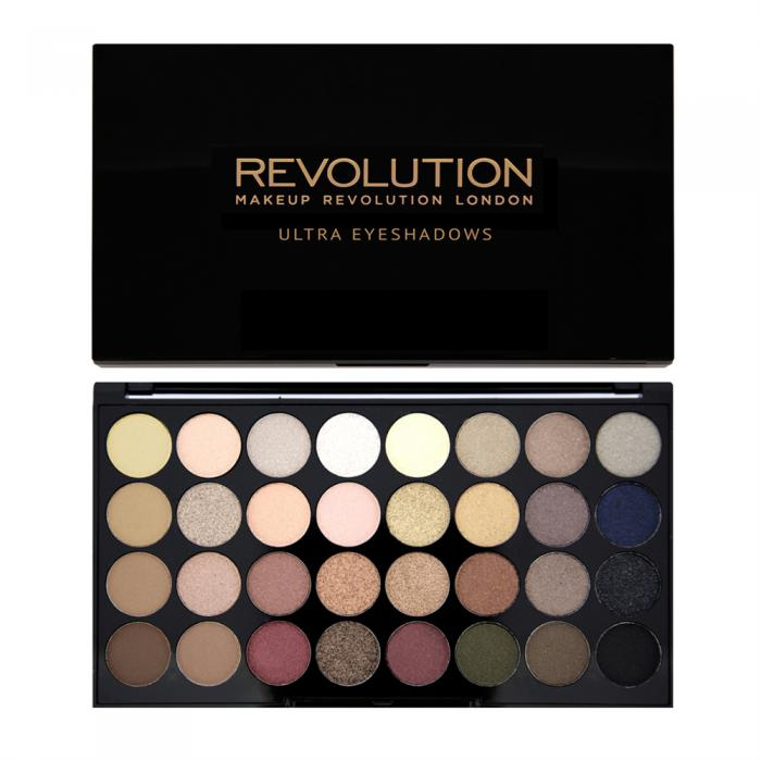 Paleta Profesionala Cu 32 Farduri Makeup Revolution - Flawless-big