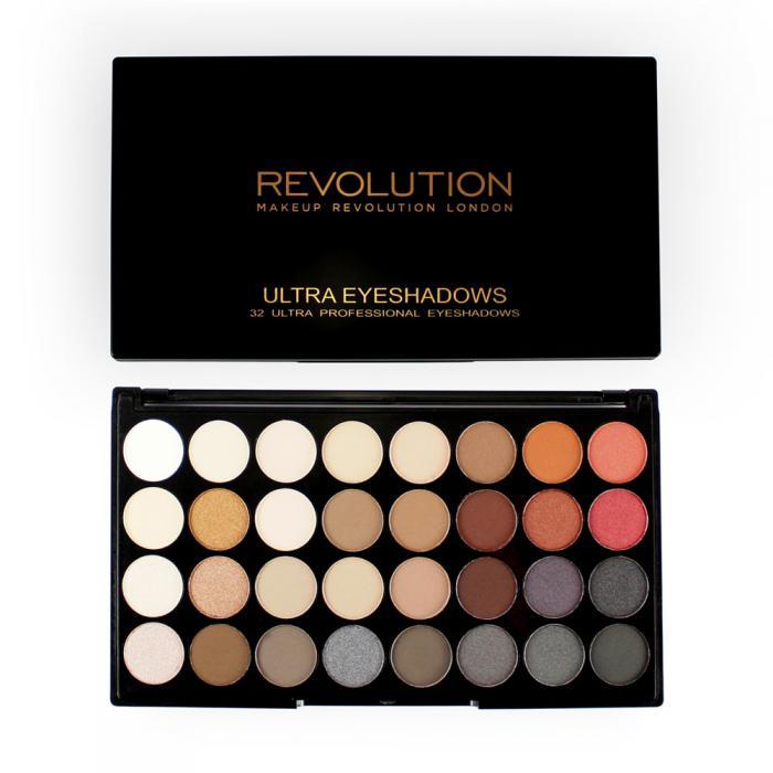 Paleta Profesionala Cu 32 Farduri Makeup Revolution - Flawless 2-big