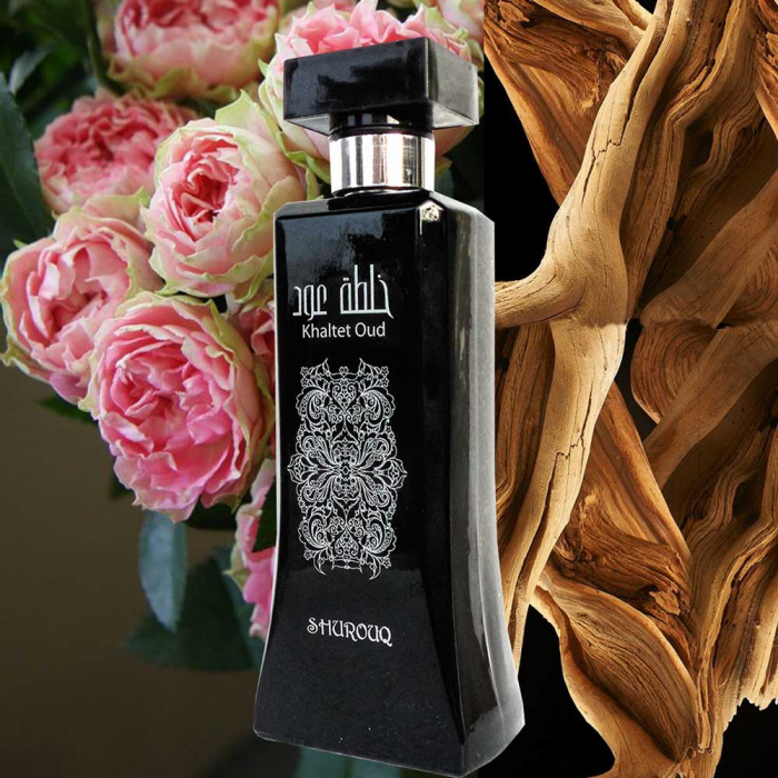 Parfum arabesc unisex, Khaltet Oud by SHUROUQ EDT, 100 ml-big