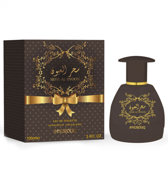 Parfum arabesc dama, Sehr Al Oyoon by SHUROUQ EDT, 100 ml-big