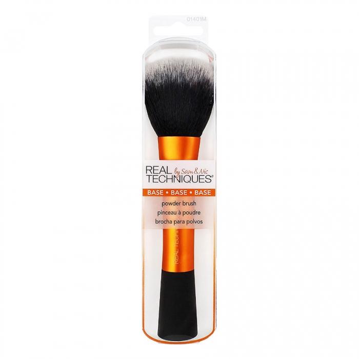 Real Techniques Base Powder Brush - Pensula profesionala de machiaj pentru pudra-big