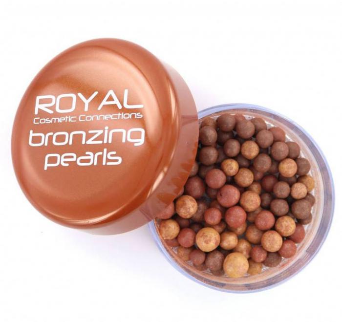 Perlute Bronzante Iluminatoare ROYAL Bronzing Pearls, 40 g-big