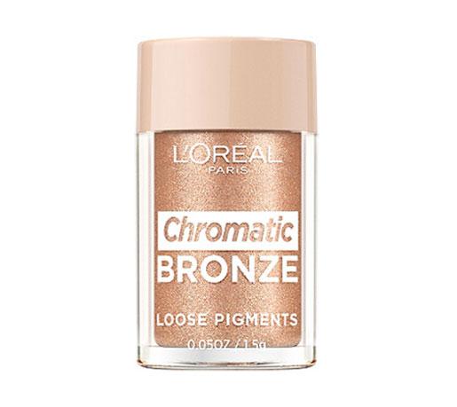 Pigment Machiaj L'Oreal Paris Chromatic Bronze Loose Pigments, 01 As If, 1.5 g-big