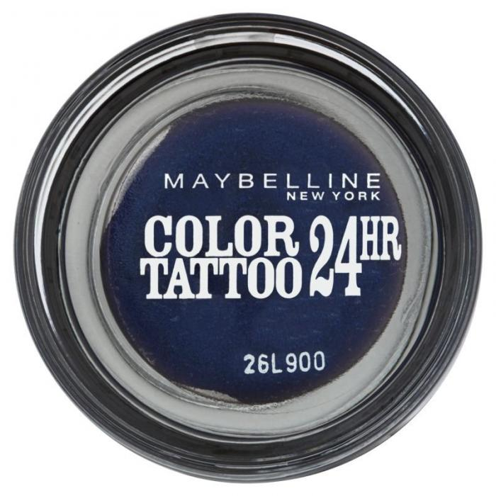 Fard Iluminator Maybelline Color Tattoo 24 Hr - 25 Everlasting Navy-big