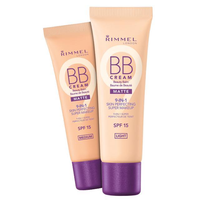 BB Cream 9 in 1 Rimmel Skin Perfecting MATTE - 001 Light-big