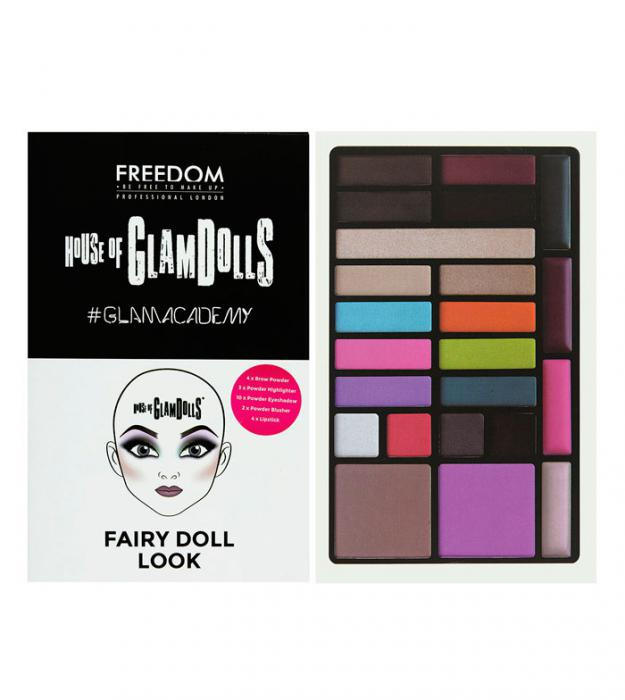 Paleta Multifunctionala Freedom London House of GlamDolls Fairy Doll-big
