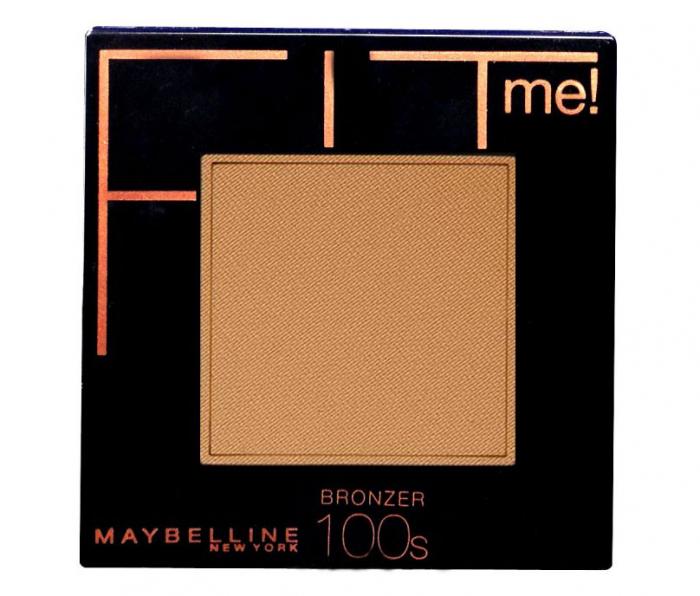 Pudra Bronzanta Maybelline New York Fit Me Bronzing Powder, 100s, 9 g-big