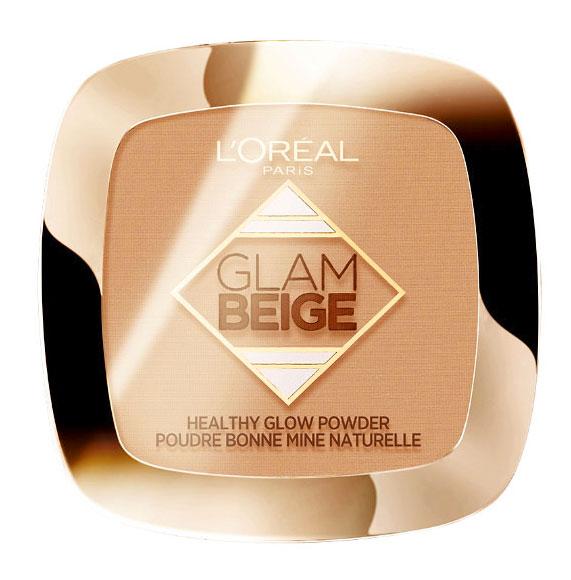 Pudra Bronzanta L'Oreal Paris Glam Beige Healthy Glow Powder, Light Clair, 9 g-big