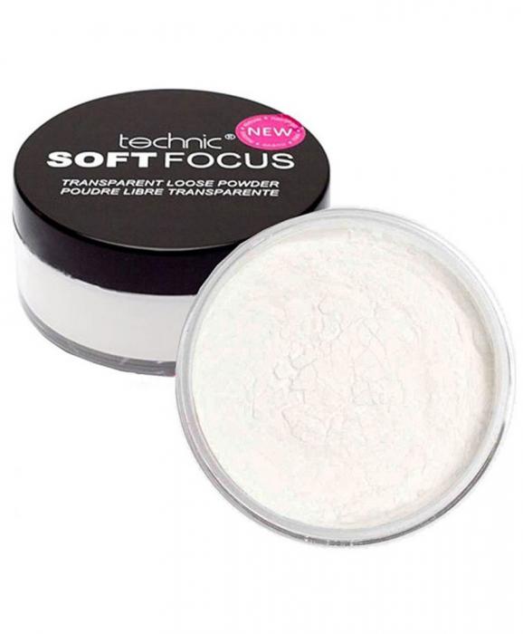 Pudra Translucida Fixatoare Technic SOFT FOCUS Transparent Loose Powder, 20 g-big