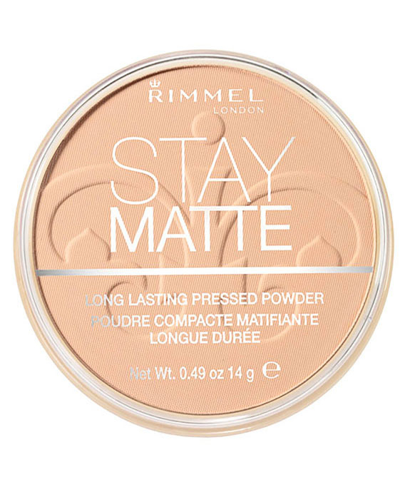 Pudra matifianta rezistenta la transfer RIMMEL London Stay Matte, 005 Silky Beige, 14g-big