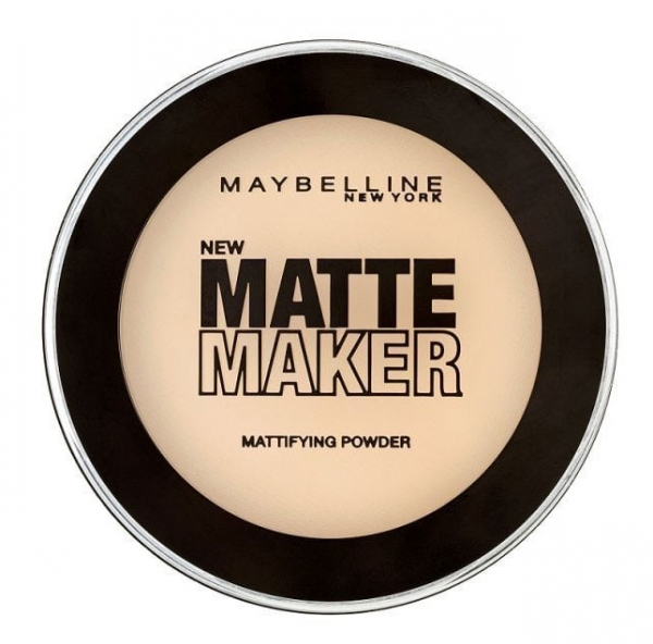 Pudra Maybelline Matte Maker, 010 Classic Ivory, 16 g-big