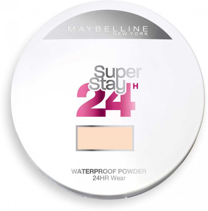 Pudra Compacta cu efect MAT Maybelline SuperStay 24 Hr - 21 Nude, 9g-big