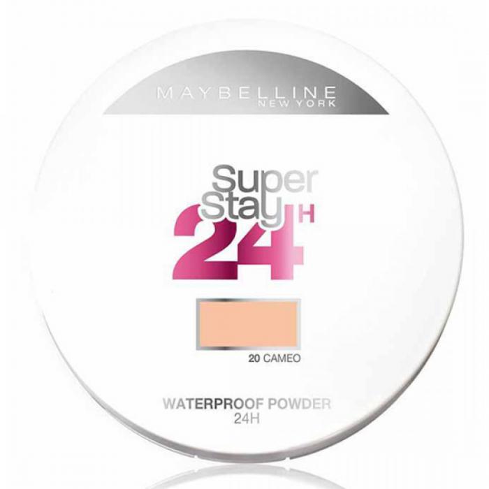 Pudra Compacta cu efect MAT Maybelline SuperStay 24 Hr - 20 Cameo, 9g-big