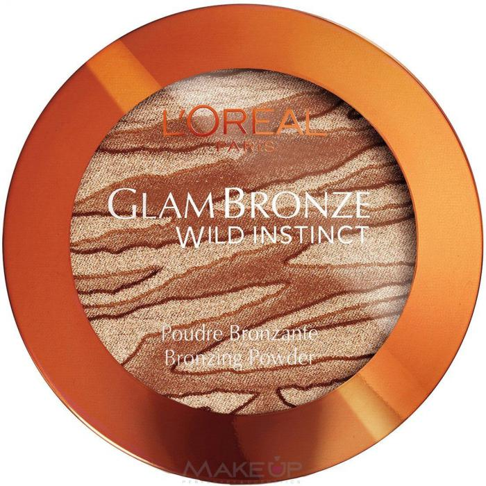 Pudra Bronzanta L'oreal Wild Instinct - 302 Medium-big